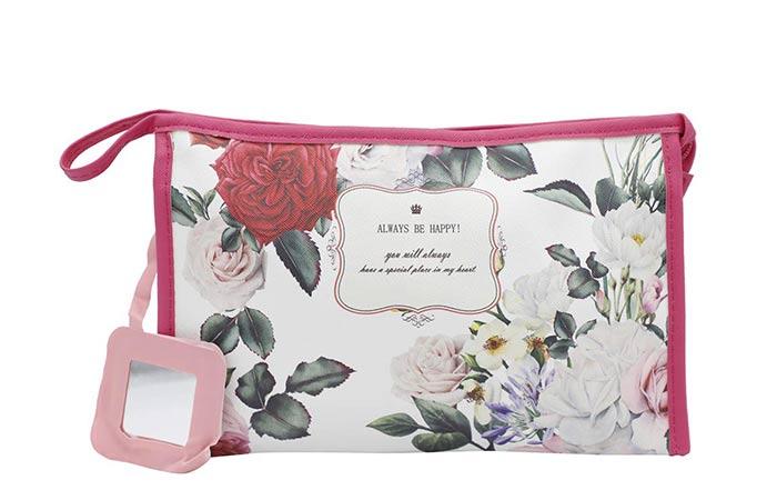 NFI essentials Floral Print Makeup Pouch