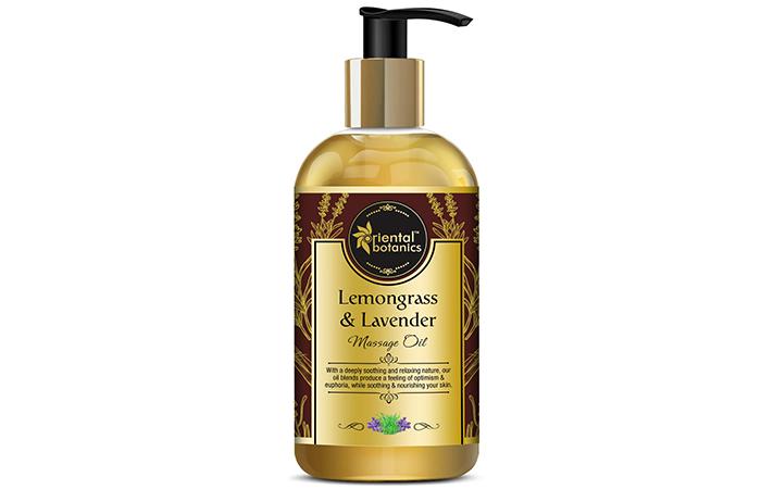 Oriental Botanics Body Massage Oil