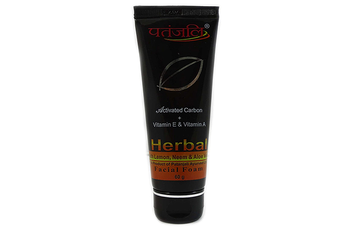 Patanjali Herbal Facial Foam