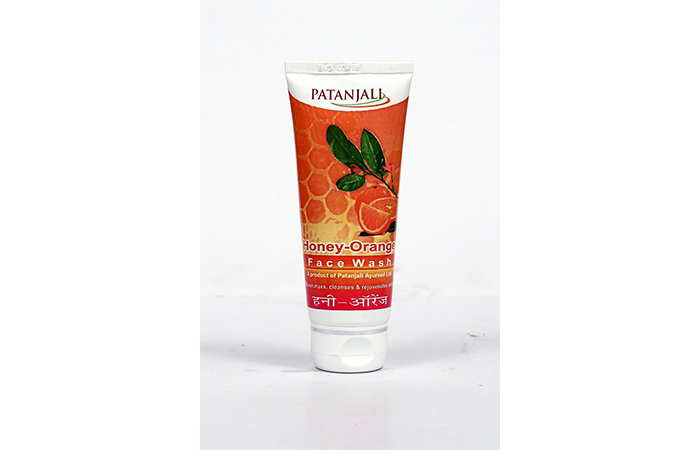 Patanjali Honey-Orange Face Wash