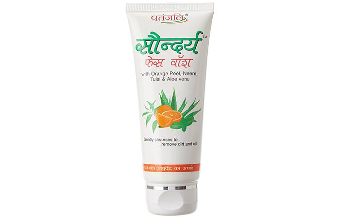 PatanjaliSaundarya Face Wash