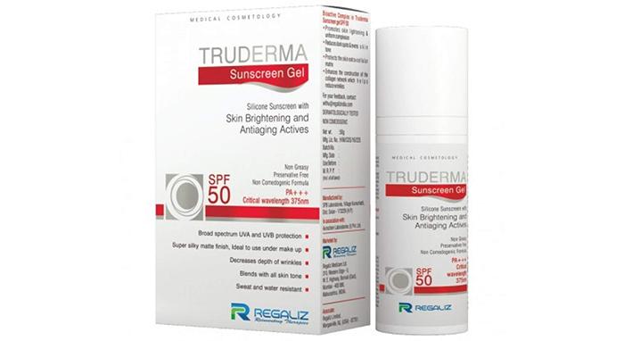Regaliz TRUDERMA Sunscreen Gel