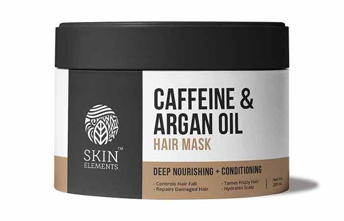 SKIN ELEMENTS Caffeine & Argan Oil Hair Mask