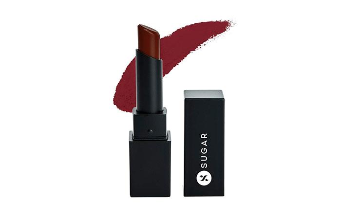 SUGAR Cosmetics Nothing Else Matter Longwear Lipstick in 16 Cloud Wine