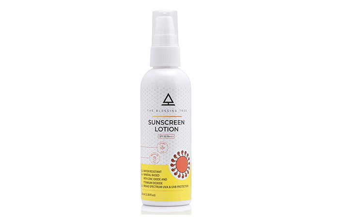 THE BLESSING TREE Sunscreen Lotion