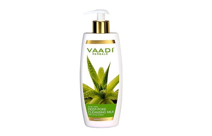 Vaadi Herbals Aloe Vera Deep Pore Cleansing Milk