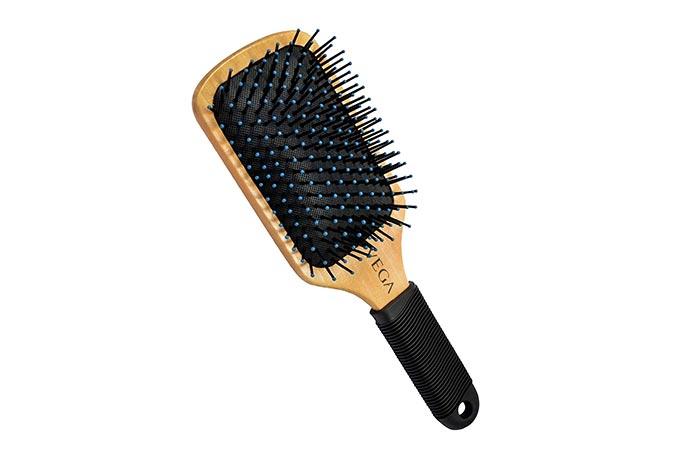 Vega Premium Collection Wooden Paddle Brush