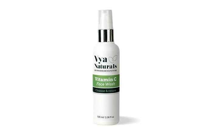 Vya Naturals Vitamin C Face Wash