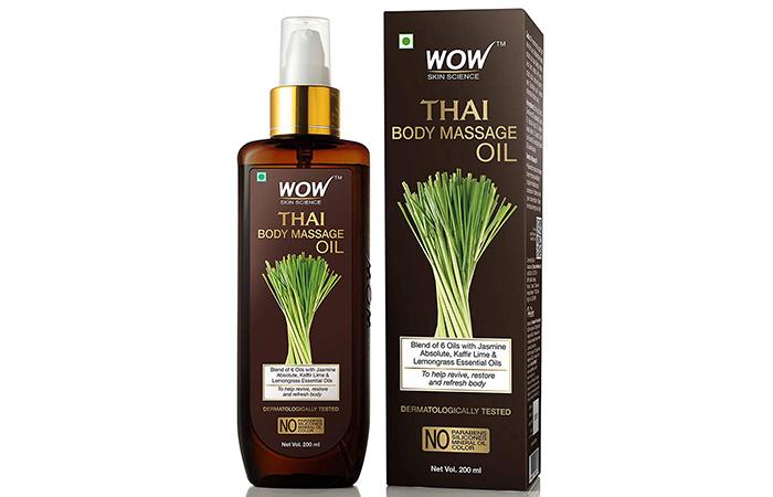WOW Skin Science Thai Body Massage Oil