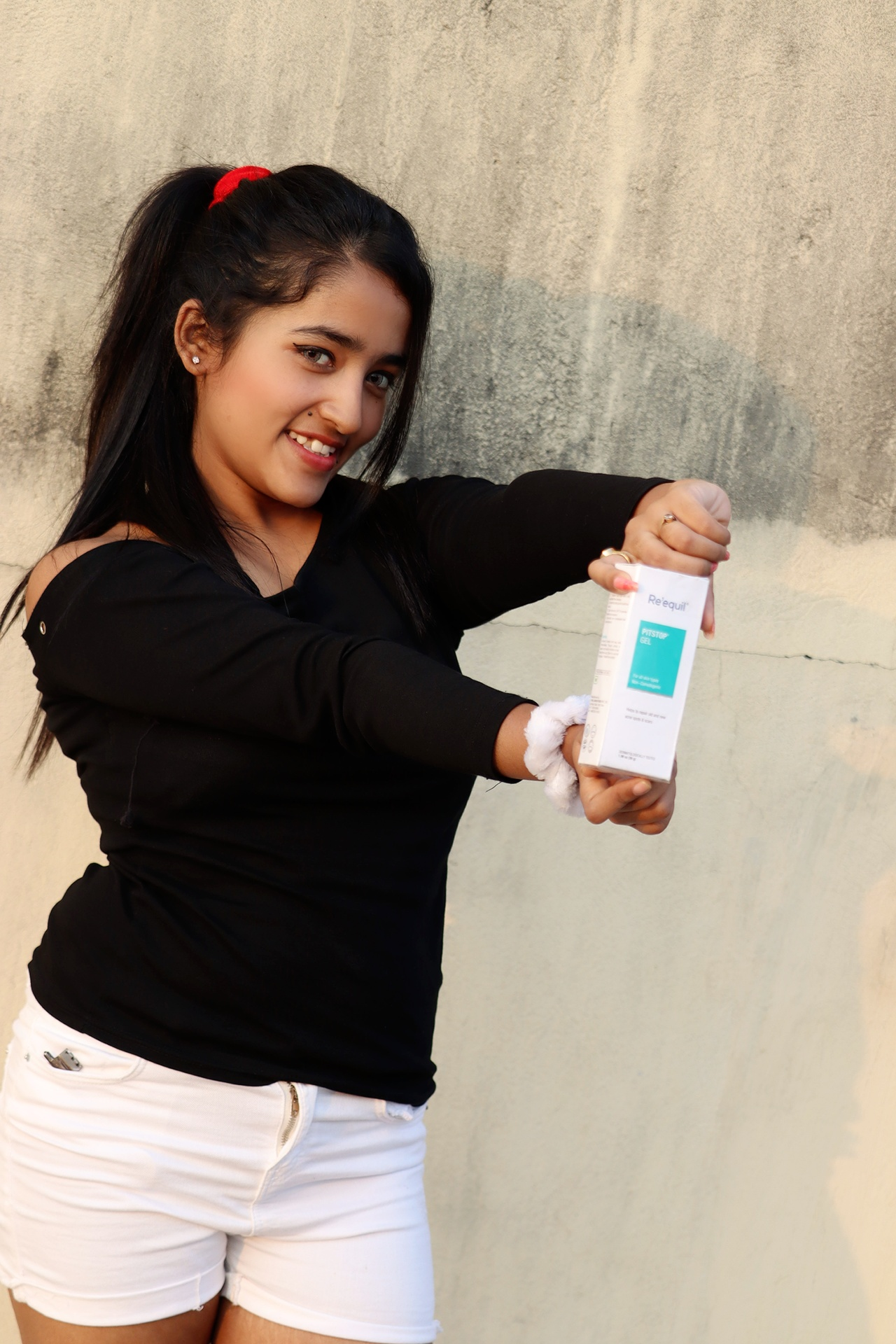 Re'equil Pitstop Gel For Acne Scars & Pits Removal -Amazing healer-By disha_acharya