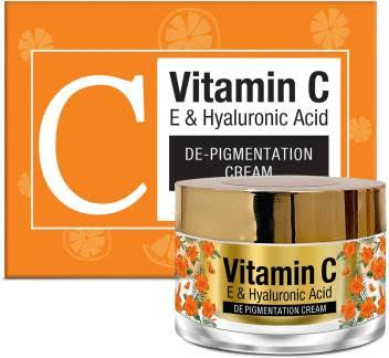 St.Botanica Vitamin C, E & Hyaluronic Acid DePigmentation Cream -Must buy this if you have acne scars-By try_not_to_laugh