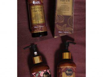 Oriental Botanics Onion Hair Care Combo   Red Onion Hair Shampoo + Red Onion Hair Oil -Effective results-By aanchalmandotia