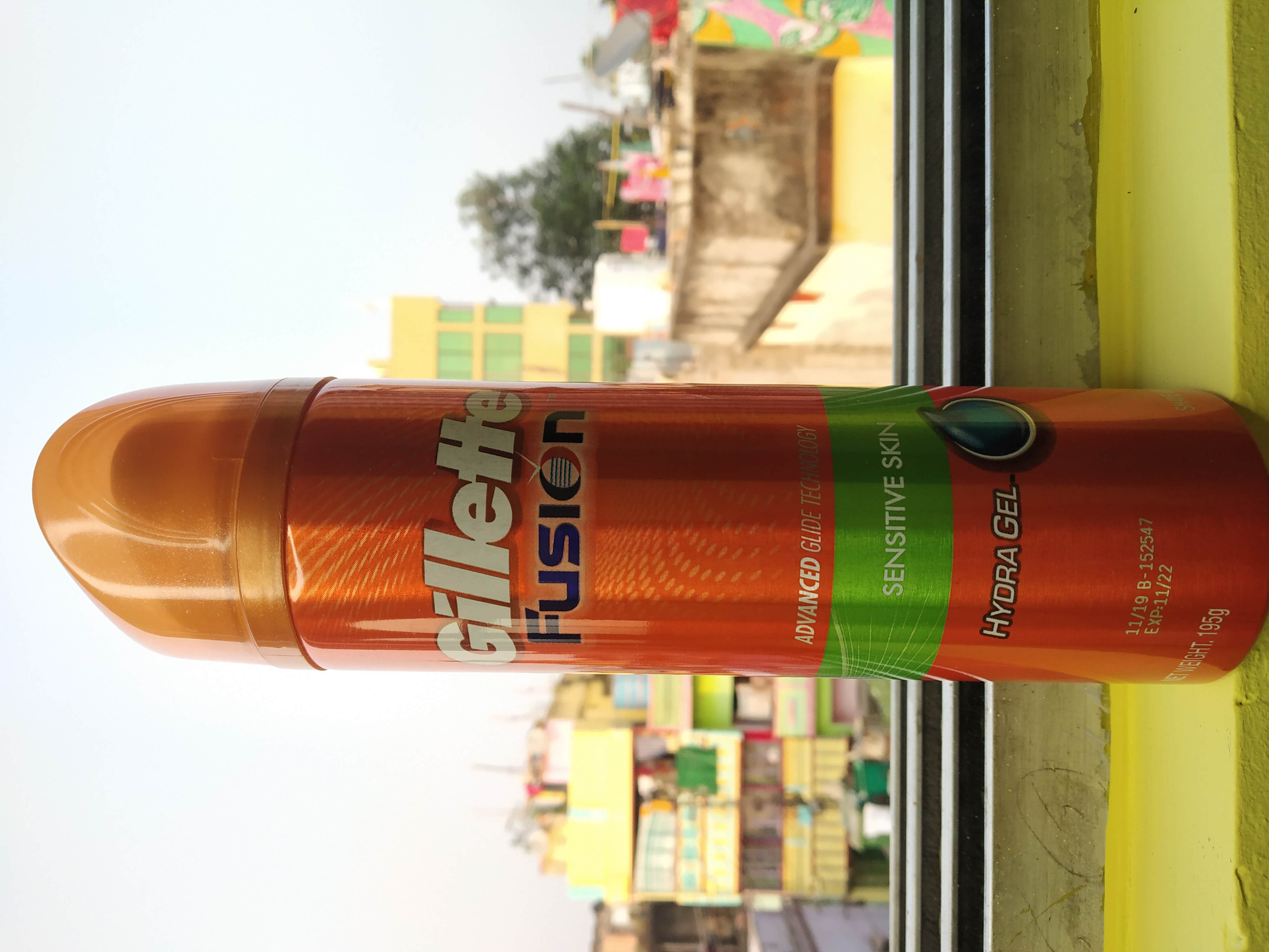 Gillette Fusion Hydra Gel Sensitive Pre Shave Gel-Save smooth like never before!!-By monster_mohan_-1
