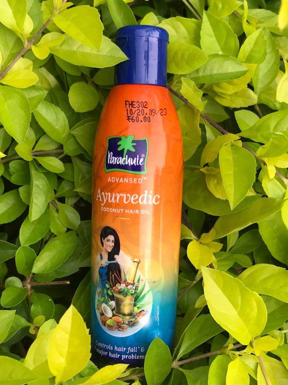 Parachute Advansed Ayurvedic Coconut Hair Oil-Hairfall treatment-By realbeauty
