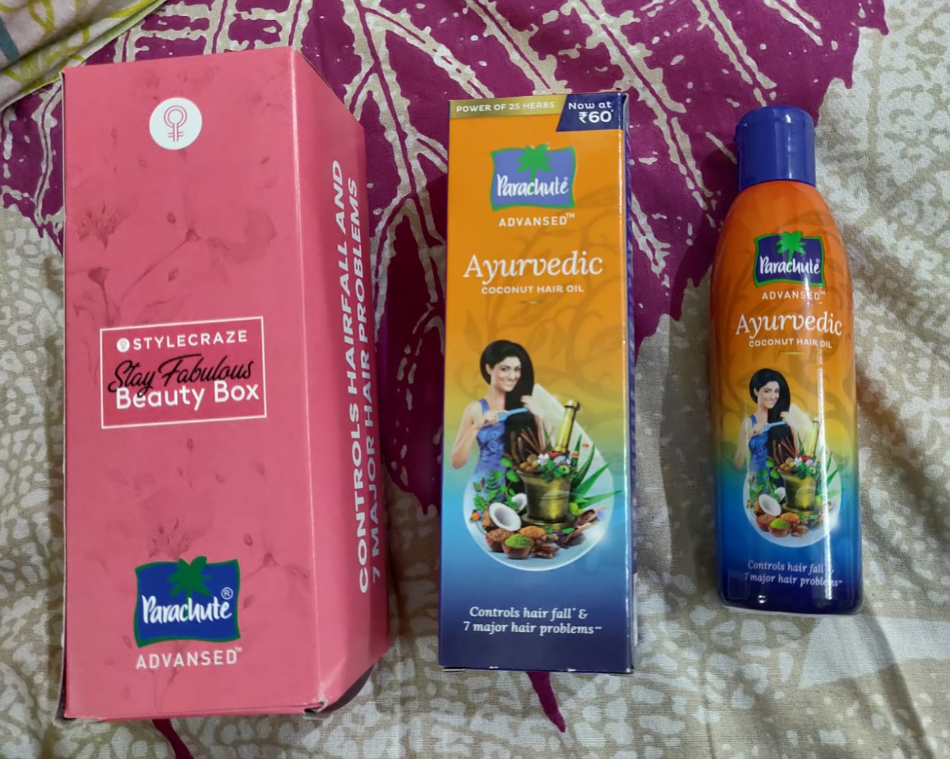 Parachute Advansed Ayurvedic Coconut Hair Oil-Best ayurvedic oil-By anjali_dewangan-1