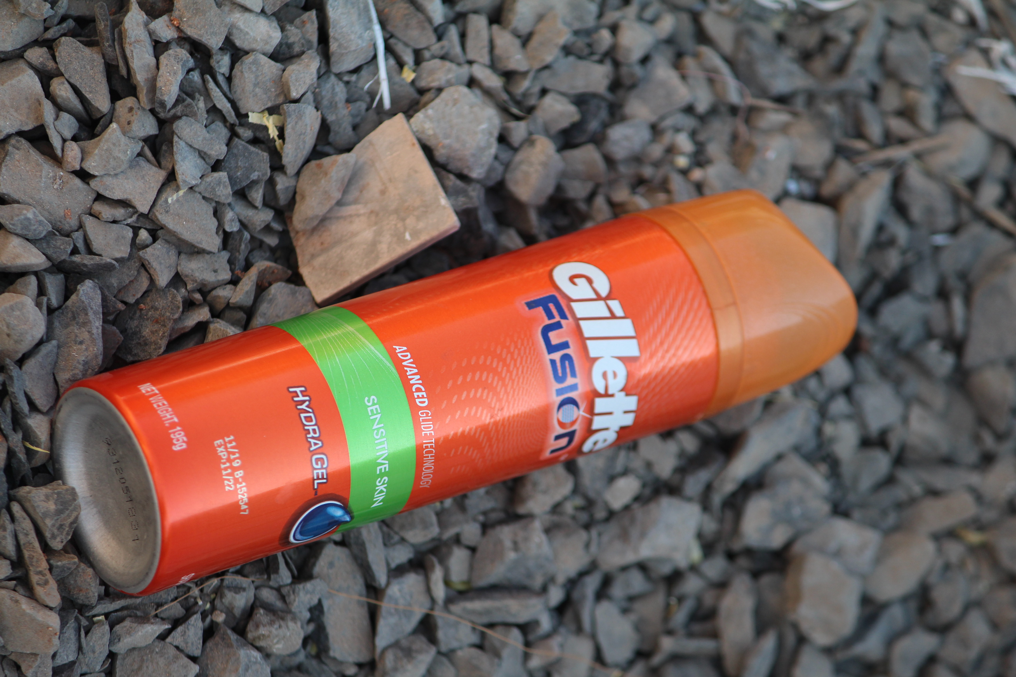 Gillette Fusion Hydra Gel Sensitive Pre Shave Gel-Best soft hydra gel-By khatri_lakhan