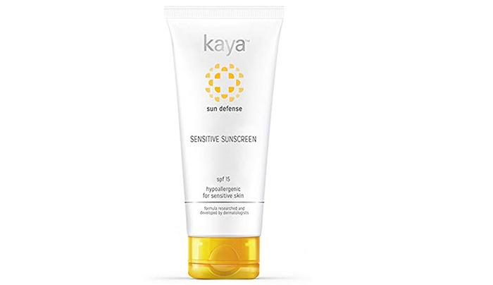 kaya Sensitive Sunscreen