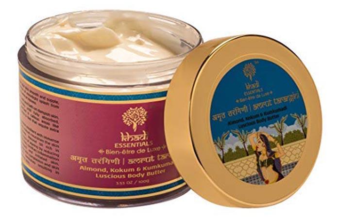 khadi ESSENTIALS Almond, Kokum & Kumkumadi Luscious Body Butter