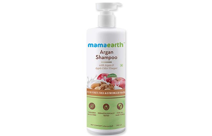 mamaearth Argan Shampoo