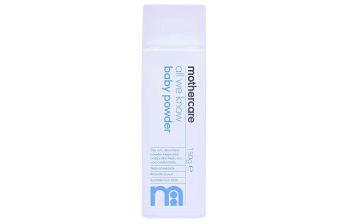 mothercare All We Know Baby Powder