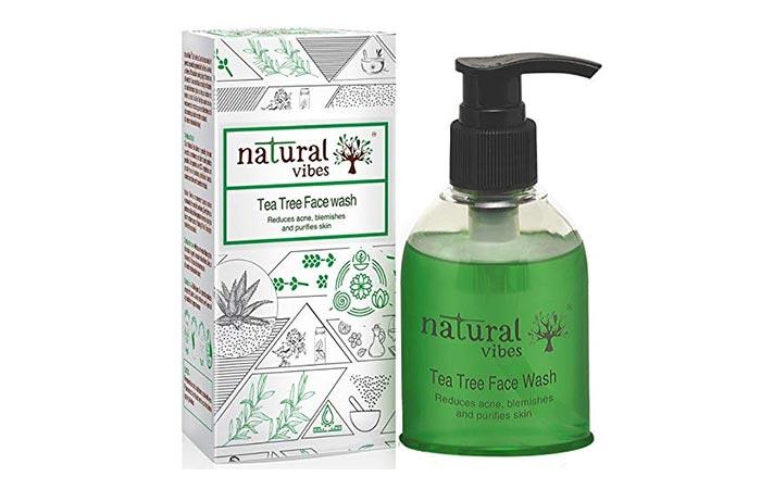 natural vibes Tea Tree Face Wash