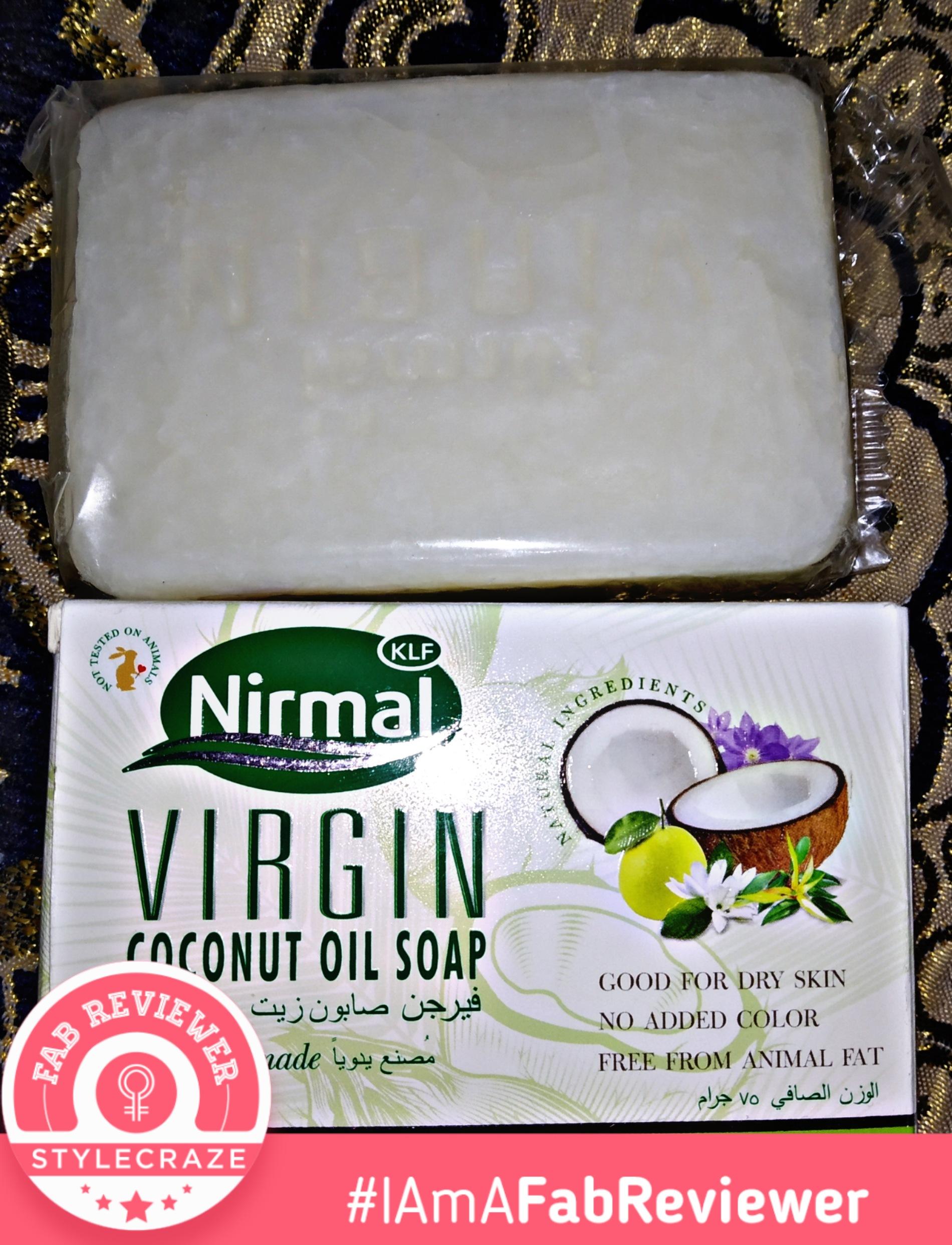 KLF Nirmal VCO Soap -Natural and organic handmade soap-By mayank_negi