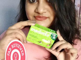 Medimix Ayurvedic Natural Glycerine soap with Lakshadi Oil -Perfect soap-By adrika_ghosh