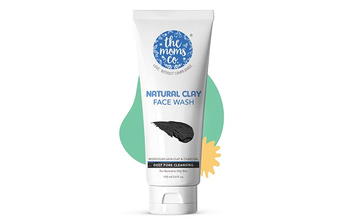 the moms co. Natural Clay Face Wash