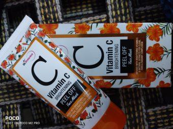 St.Botanica Vitamin C Brightening Peel Off Mask pic 2-Brightening Vitamin C Peel Off Mask-By aparna_pavan