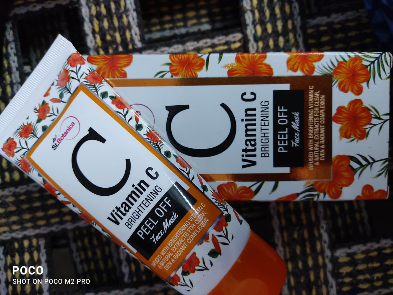 St.Botanica Vitamin C Brightening Peel Off Mask-Brightening Vitamin C Peel Off Mask-By aparna_pavan-2
