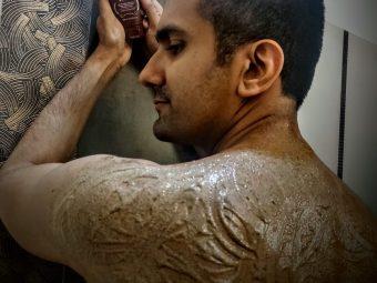 Man Arden Caffeine Series Arabica Coffee Body Scrub pic 2-smells heavenly……feels heavenly!!-By abhinay_vij