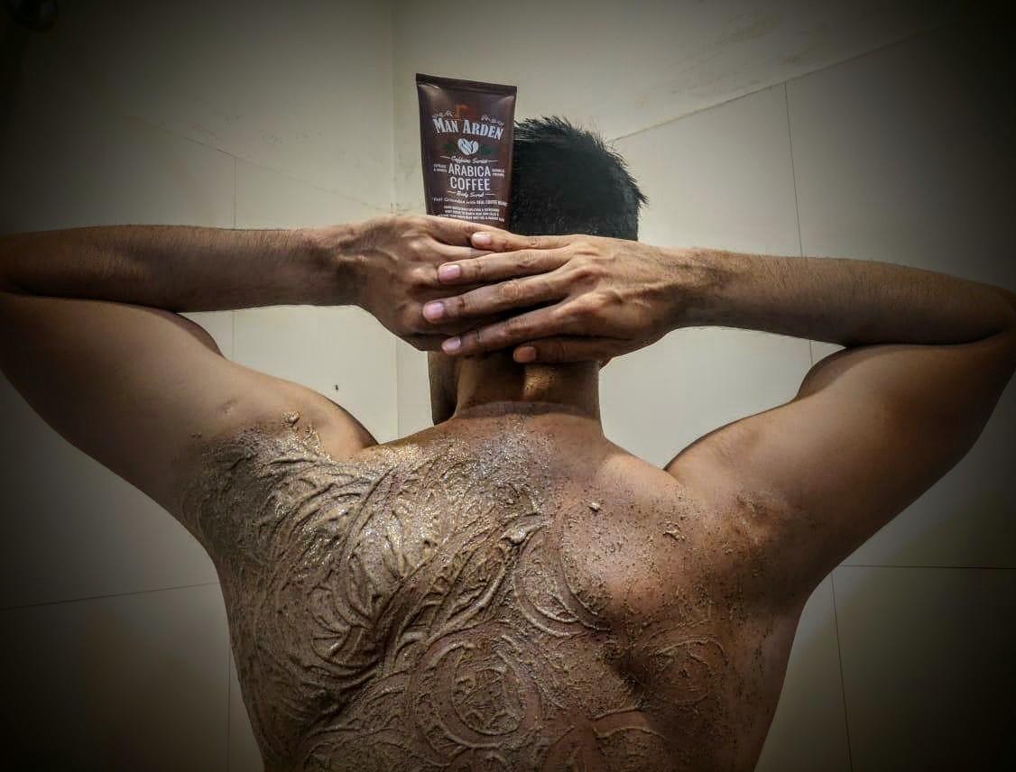 Man Arden Caffeine Series Arabica Coffee Body Scrub pic 1-smells heavenly……feels heavenly!!-By abhinay_vij