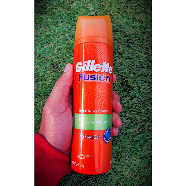 Gillette Fusion Hydra Gel Sensitive Pre Shave Gel-Man Product-By rishav_sharma-2