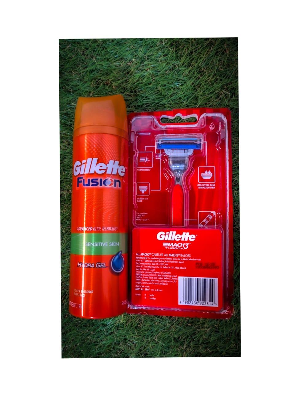 Gillette Fusion Hydra Gel Sensitive Pre Shave Gel-Man Product-By rishav_sharma-1