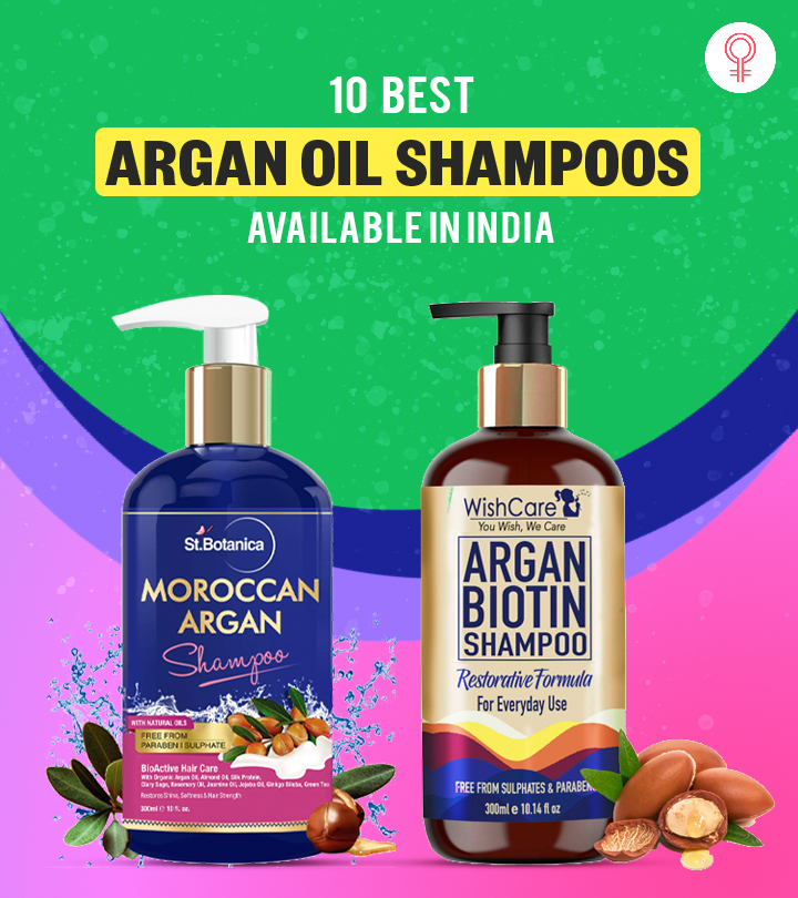 10 Best Argan Oil Shampoos Available In India