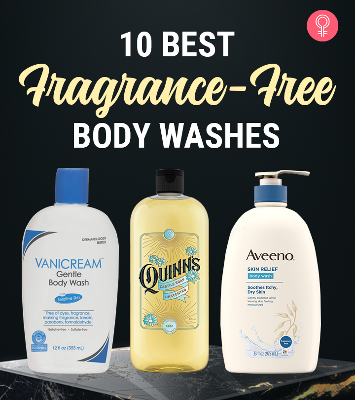 10 Best Fragrance-Free Body Washes
