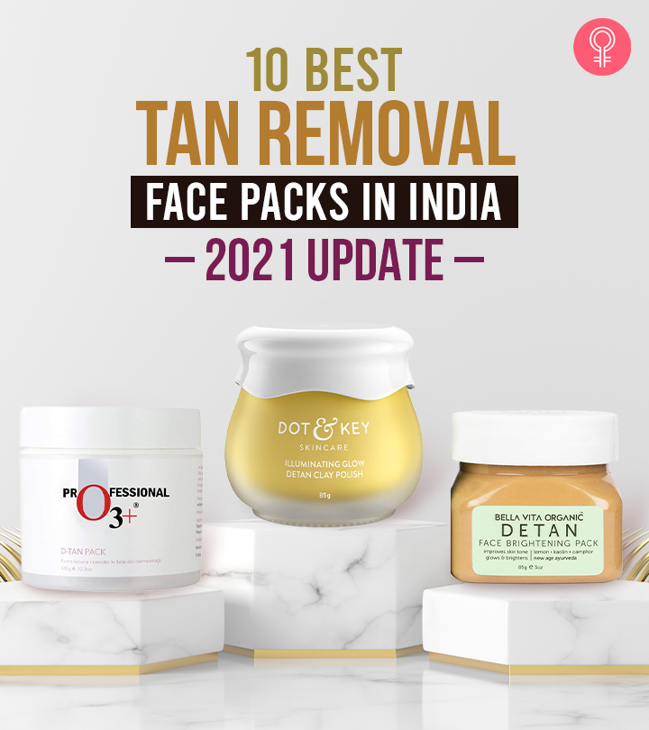 10 Best Tan Removal Face Packs In India – 2021 Update