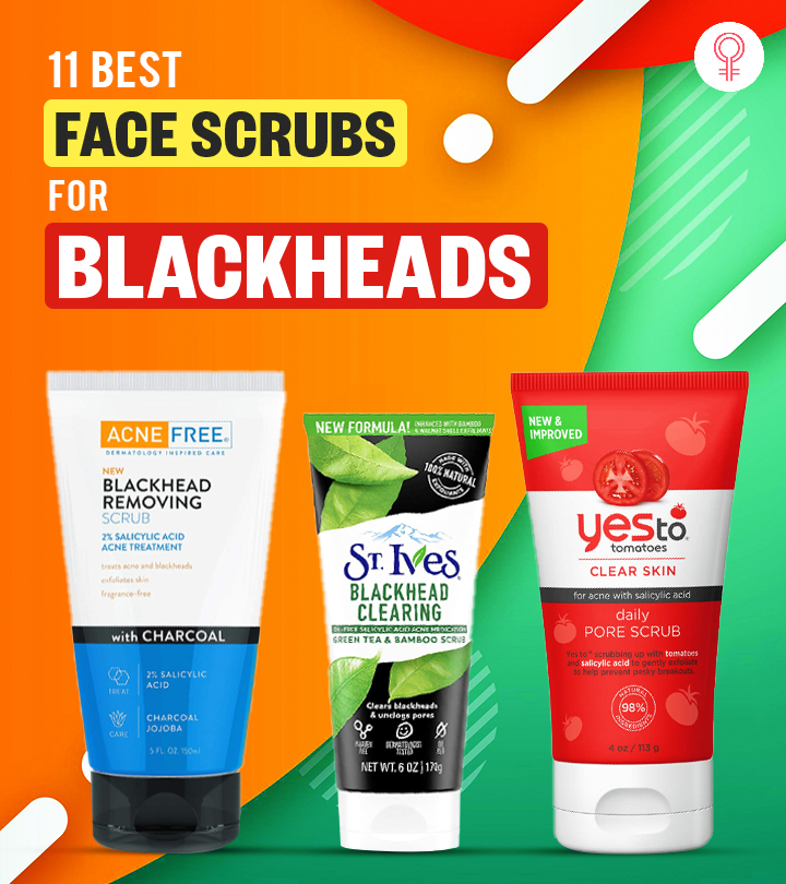 Get Rid Of Blackheads Quickly With These Bestselling Face Scrubs