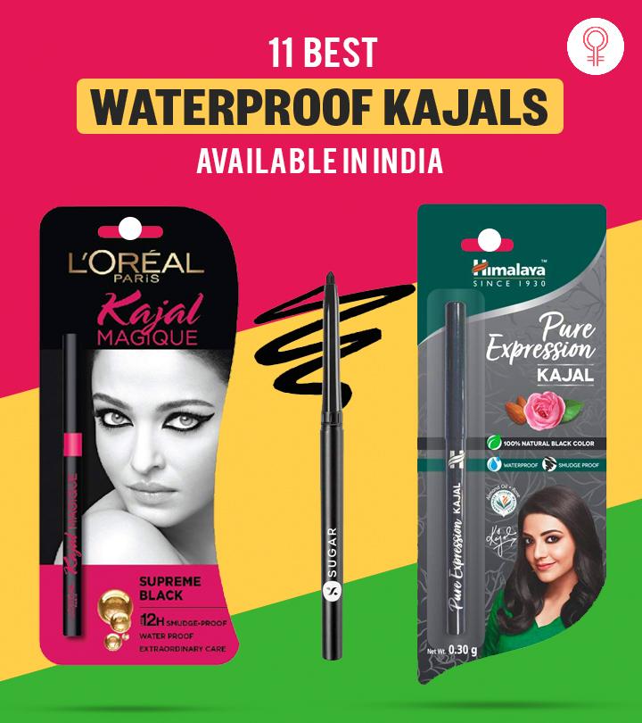 11 Best Waterproof Kajals Available In India