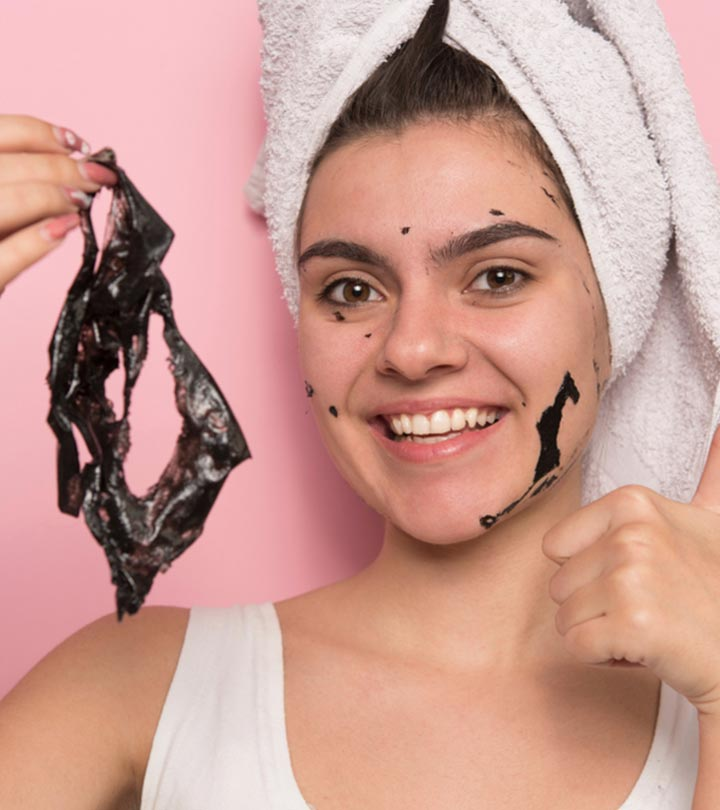 13 Best Blackhead Peel-Off Face Masks Of 2021