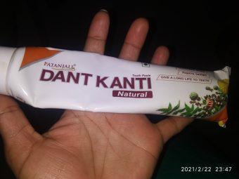 Patanjali Dant Kanti Dental Cream (Regular) 100gm -Feel fresh n good-By neetu_solanki