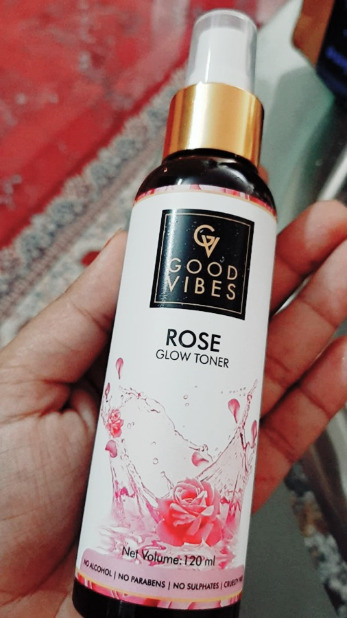 Good Vibes Rose Glow Toner -Value for money must try product-By pragya_rathi1