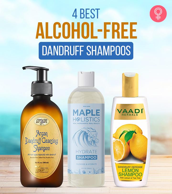4 Best Alcohol-Free Dandruff Shampoos