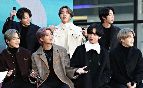 BTS Gets A Shoutout