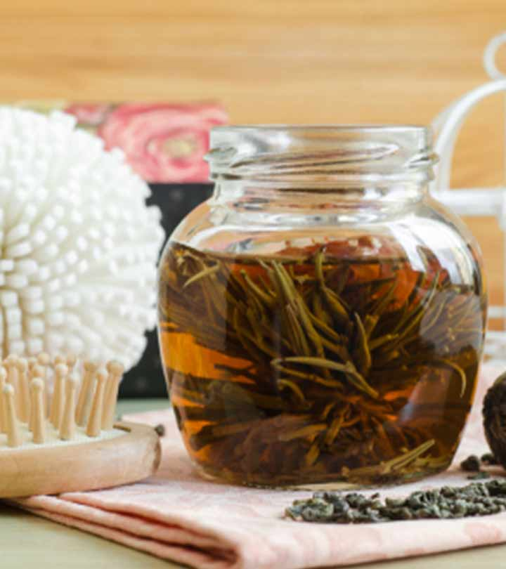 Benefits of Green Tea for Hair in Hindi