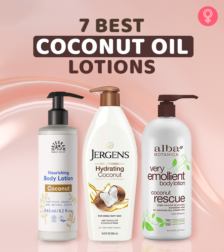 7 Best Coconut Oil Lotions