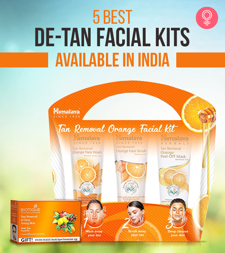 5 Best De-Tan Facial Kits Available In India