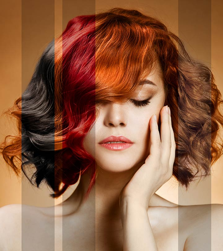 Everything You Need To Know About Different Types Of Hair Dye
