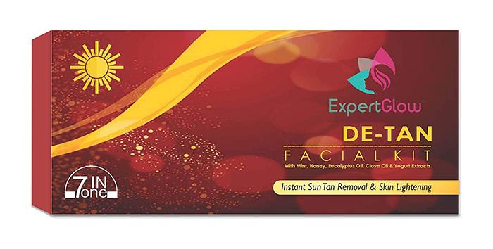 ExpertGlow De-Tan Facial Kit