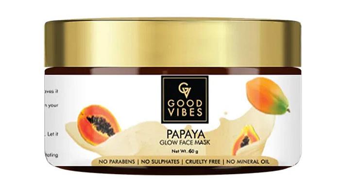 GOOD VIBES Papaya Glow Face Mask